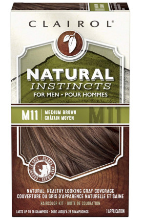 Natural Instincts For Men Haircolor [M11] Medium Brown 1 ea [070018042774]
