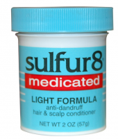 Sulfur8 Medicated Light Formula Anti-Dandruff Hair & Scalp Conditioner,  2 oz [075610435108]