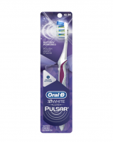 Oral-B 3D White Luxe Pulsar Manual Toothbrush, Medium  [300416687452]