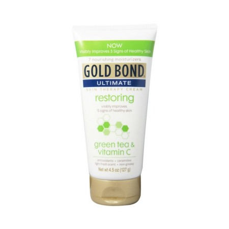 Gold Bond Ultimate Skin Therapy Cream  green tea & vitamin C 4.5 oz [041167066409]