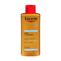 Eucerin Skin Calming Natural Omega Oils Body Wash, 16.9 oz [072140021962]