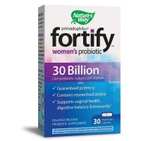 Nature's Way Primadophilus Fortify Women's Probiotic 30 Billion Vegetarian Capsules 30 ea [033674102954]
