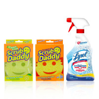 Lysol Cleaning Bundle Multi Purpose Cleaner with Scrub Daddy Scrubber 1 ea [191567644155]