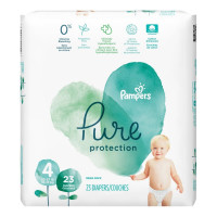 Pampers Pure Protection Diapers Size 4, 23 ea [037000769293]