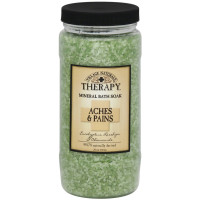 Village Naturals Therapy Mineral Bath Soak Aches & Pains 20 oz [735303504206]