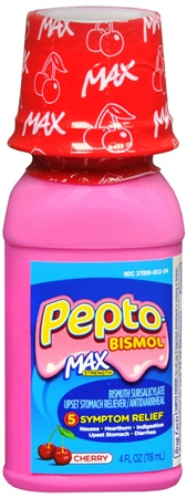 Pepto-Bismol Max Liquid Cherry 4 oz [301490856024]