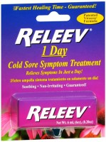 RELEEV 1 Day Cold Sore Treatment 6 mL [643689419062]