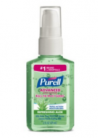 Purell Instant Hand Sanitizer With Aloe 2 oz [073852023909]