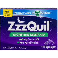 ZzzQuil Nighttime Sleep-Aid LiquiCaps 48 LiquiCaps [323900014015]