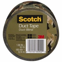Scotch Duct Tap, Camo 1.88-Inch by 10-Yard 1 ea [051141349220]