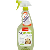 Hartz Nodor Litter Spray, Clean Scent 17 oz [032700114435]