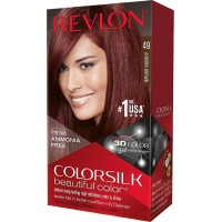 Revlon ColorSilk Hair Color 49 Auburn Brown 1 Each [309976623498]