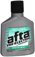 Afta Pre-Electric Shave Lotion Original 3 oz [022200002769]