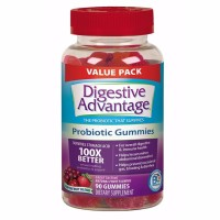 Schiff Digestive Advantage Superfruit Blend Probiotic Gummies 90 ea [020525980069]