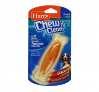 Hartz Chew 'n Clean Small Bone, Bacon Flavor 1 ea [032700975272]