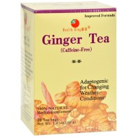 Health King Herbal Tea Bags, Ginger Tea 20 ea [646322000436]