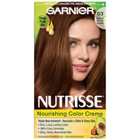 Garnier Nutrisse Haircolor, 53 Medium Golden Brown 1 ea [603084242696]