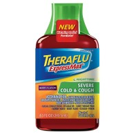 Theraflu Expressmax Nighttime Severe Cold & Cough Syrup, Berry Flavor 8.30 oz [300678128083]
