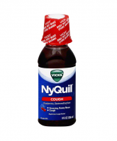 Vicks Nyquil Cough Relief Liquid Cherry 8 oz [323900014312]