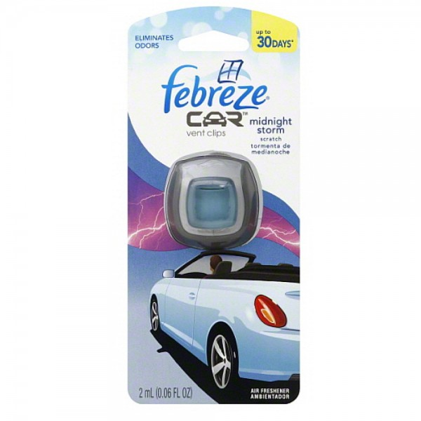 Febreze Car Vent Clips Air Freshener Odor Eliminator New: Febreze Car Vent Clip Air Freshener