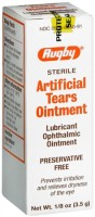 Rugby Artificial Tears Ointment 12 Each [305366550917]