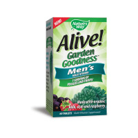 Nature's Way Alive! Garden Goodness Men's Multivitamin Tablets, 60 ea [033674121122]