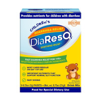 DiaResQ Children's Diarrhea Relief Rapid Recovery Vanilla, 3 Packet  [852870004639]