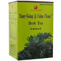 Health King Herbal Tea, Easy-Going & Colon Clean 20 ea [646322000320]