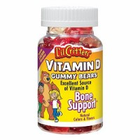L'il Critters Vitamin D Dietary Supplement Gummy Bears Assorted Flavors 60 Each [027917018836]