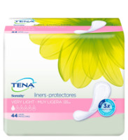 Tena Incontinence Liners for Women, Long, 44 Count [380040649002]