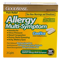 Good Sense Allergy Multi-Symptom Caplets, Cool Ice 24 ea [370030147519]