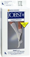 JOBST SupportWear SensiFoot Knee High Socks 8-15 mmHg White Small 1 Pair [035664108311]