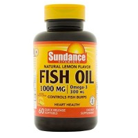 Sundance Fish Oil Supplement 1000 Mg, Lemon 60 ea [840093102331]
