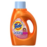 Tide Downy Liquid Laundry Soap, April Fresh 46 oz [037000874539]