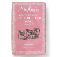 Shea Moisture Peace Rose Oil Shea Butter Soap 8 oz [764302231141]