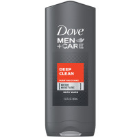 Dove Men+Care Body & Face Wash, Deep Clean 13.50 oz [011111014145]