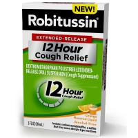 Robitussin Extended-Release 12 Hour Cough Relief, Orange 3 oz [300318655108]