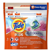 Tide Pods + Downy April Fresh Scent 15 ea [037000977803]