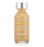 L'Oreal Paris True Match Super Blendable Makeup, Fresh Beige [W4.5] 1 oz [071249220283]