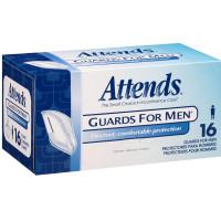 Attends Guards For Men (4 PACKS OF 16) 64 Each [086679250519]