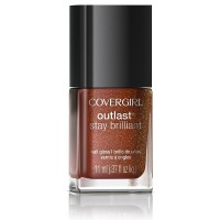 CoverGirl Outlast Stay Brilliant Nail Gloss, Rogue Red [65] 0.37 oz [046200000440]