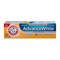 ARM & HAMMER Advance White Extreme Whitening Baking Soda Toothpaste, Clean Mint 0.9 oz [033200186007]