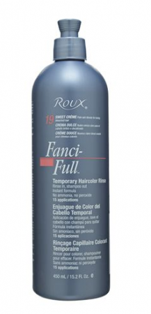 Roux Fanci-Full Temporary Color Rinse 19 Sweet Creme, 15.2 oz [075724550193]