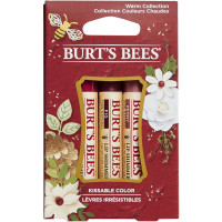 Burt's Bees Warm Collection Kissable Color Holiday Gift Set 3 ea [792850899551]