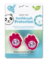 Dr. Tung's Kids Snap-on-Toothbrush Protection 2 ea (Color Vary) [019373952557]