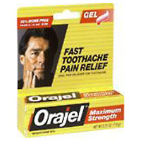 Orajel Maximum Strength Toothache Pain Relief Gel 0.25 oz [310310238407]