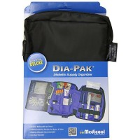 Medicool DIA-PAK Deluxe Diabetic Supply Organizer 1 Each [739656600004]