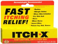 ITCH-X Anti-Itch Gel 1.25 oz [302250495330]