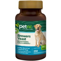 PetNC Natural Care Brewers Yeast Chewables for Dogs, Liver Flavor 250 ea [740985274842]