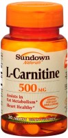 Sundown L-Carnitine 500 mg Tablets 30 Tablets [030768037413]